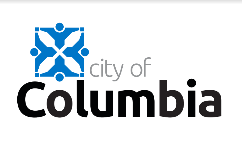 This image has an empty alt attribute; its file name is City-of-Columbia-Logo-2-1.png